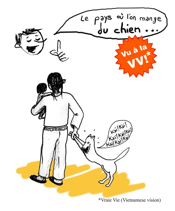 le pays où l'on mange les chiens